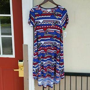 Patriotic Evil Knievel Carly Dress